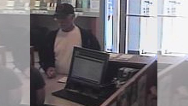 Police are trying to identify this man who robbed an Independence bank. (KC FBI/KCTV)