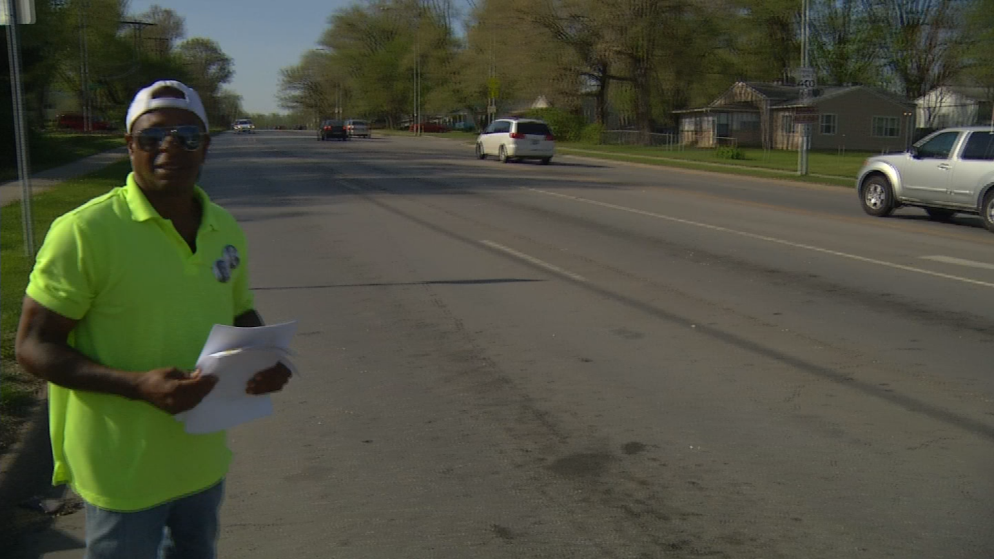 A local activist is passing out fliers with information hoping someone might know who attacked two women with a hammer. (KCTV)