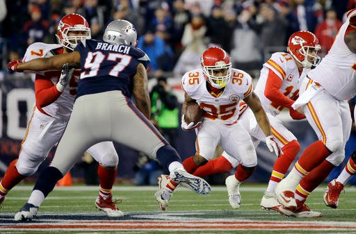The Kansas City Chiefs could be part of the season opening game of the 2017 NFL season, according to The Boston Globe.(AP)