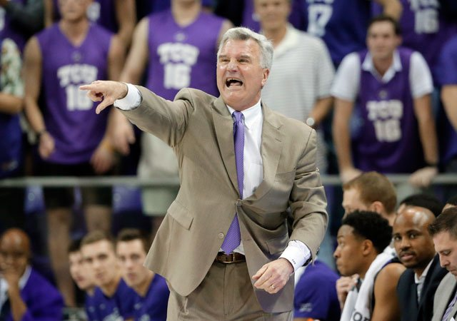 Kansas State is discussing a contract extension for basketball coach Bruce Weber, who was thought to be on the hot seat last season before guiding the Wildcats back to the NCAA Tournament. (AP)