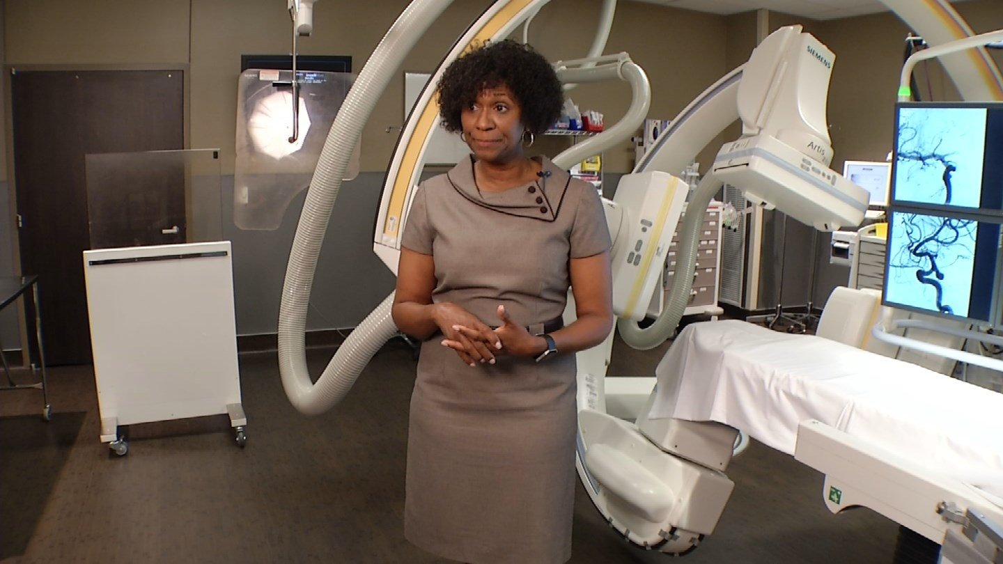 Because aneurysms can cause bleeding over the surface of the brain and can be deadly, Tammie Willis feels extra blessed to have survived and owed it all to Jhamari, who she calls her special hero. (KCTV5)