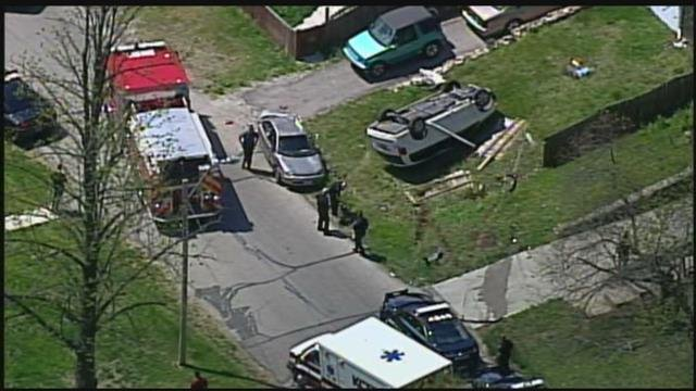 It started just before noon and ended about 12:15 p.m. near 39th Street and Hardy Avenue. (KCTV5)