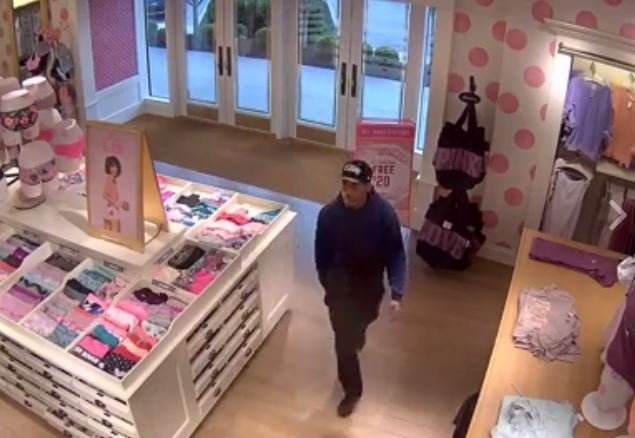 The Lee's Summit Police Department is asking for help in catching two people who stole merchandise from a Victoria's Secret. (Lee's Summit  Police Department)