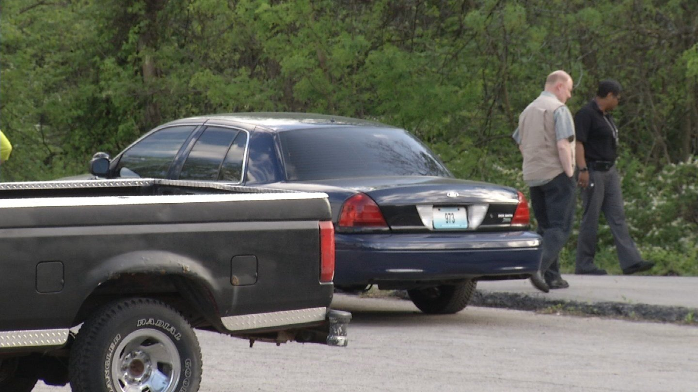 Police officers discovered a body inside a parked vehicle Wednesday morning on the 3500 block of E. 51st St.(KCTV5)