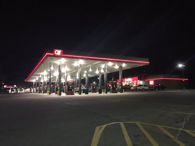 The shooting happened about 10:30 p.m. at the QuikTrip near Missouri Highway 291 and E Gudgell Road. (KCTV5)