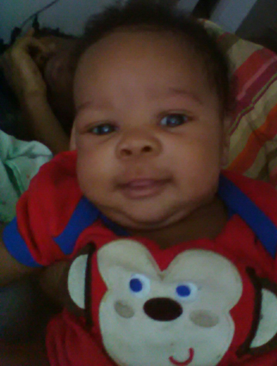 Jordon Pierce, Jr. is 1 month and 15 days old. (KCTV)