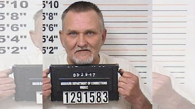Toby Polley first angered taxpayers in 2015 when surveillance cameras at a Kansas City casino captured the elected official lighting a pipe to smoke methamphetamine inside his white hearse. (Missouri Department of Corrections)