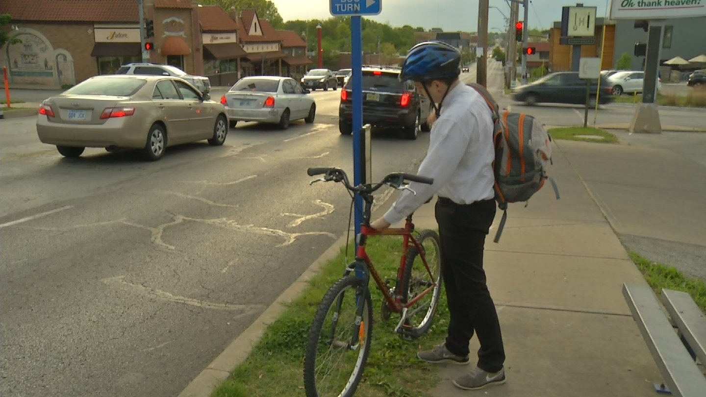 Kansas City is moving toward becoming a more bike-friendly community by 2020. (KCTV5)