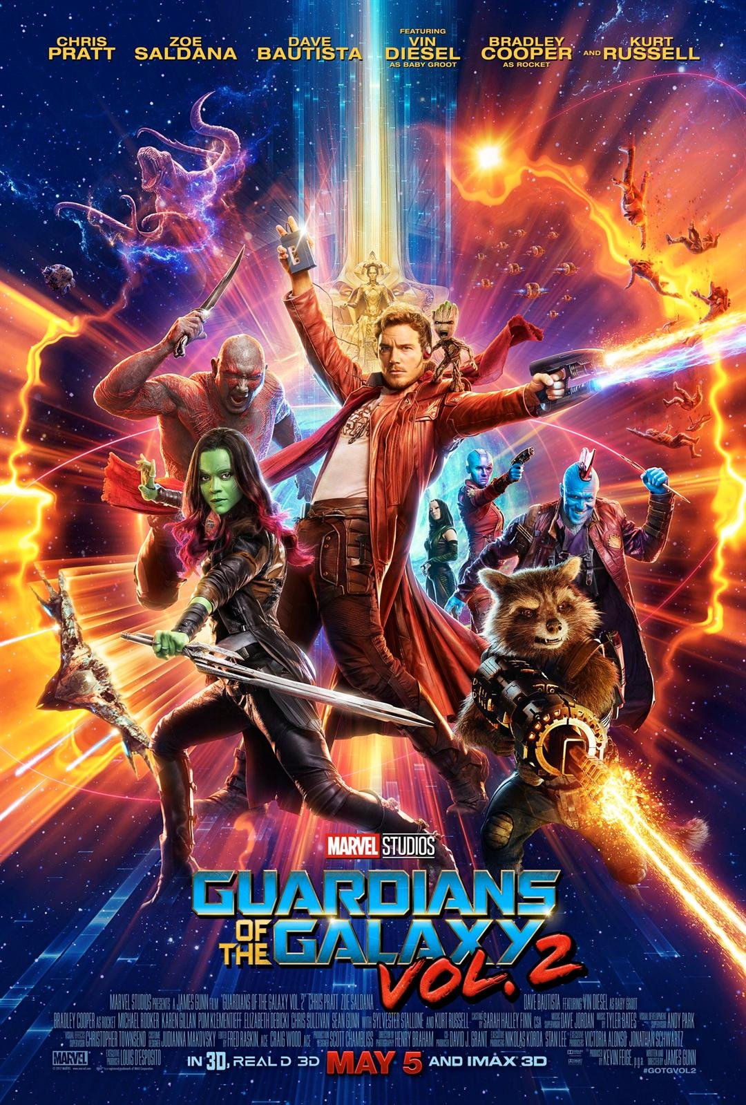 KCTV5 is giving away movie passes to see an advanced screening of the movie Guardians of the Galaxy Vol. 2. (Allied Integrated Marketing)
