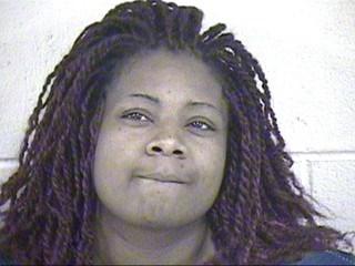Monique Ransom's mugshot. (KCTV)
