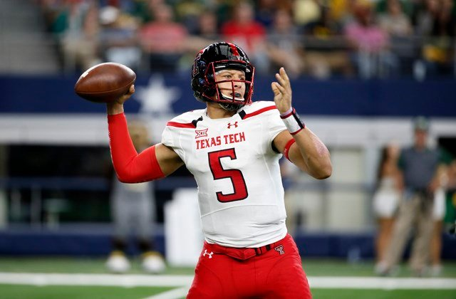 Watch any college tape of Mahomes, and it's not hard to see why the Chiefs traded up in the draft to snag him. (AP)