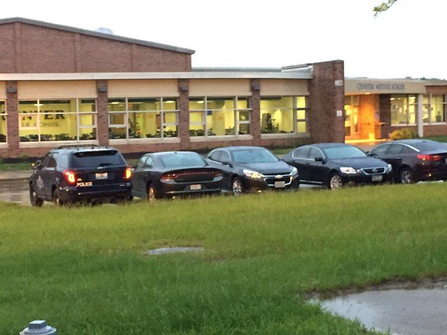 School officials say a student at the school made a threat against the school on Snapchat. (KCTV5)