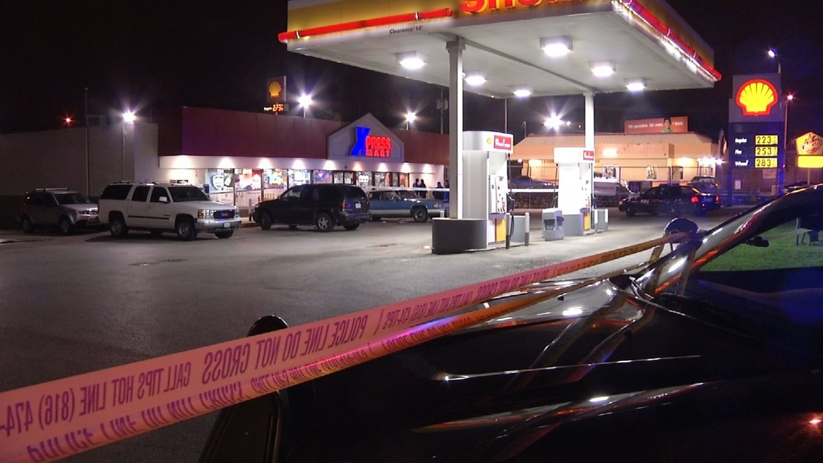 The shooting happened just before 9:45 p.m. on Friday night. (KCTV)