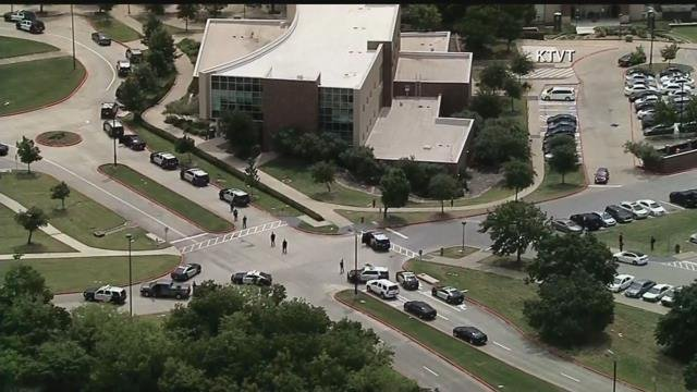 "Irving Police said on Twitter that there was an ""active shooter."" (KCTV5)"