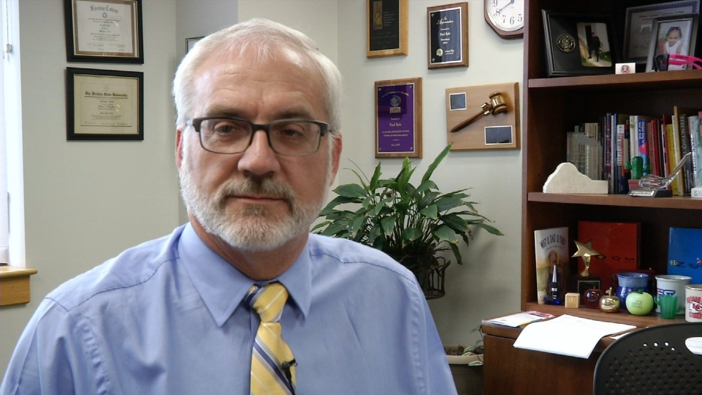 According to Johnson County Community College Dean of Students, Paul Kyle, students should always be working on their soft skills. (Abigael Jaymes/KCTV5)