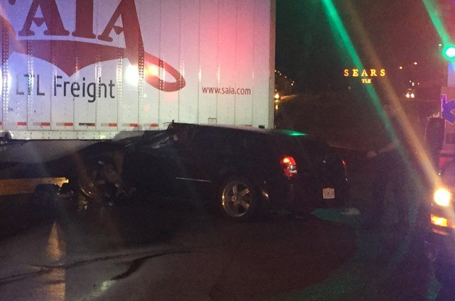The crash happened about 10:55 p.m. on Wednesday on the ramp from northbound Interstate 35 to US Route 69. (KCTV5)