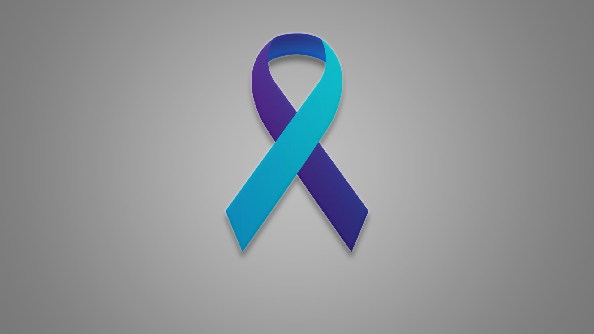 File photo of a suicide prevention ribbon. (AP)