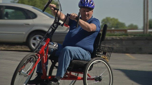 Each bike is built by veterans for veterans and strives to help their disabled brothers and sisters get back outside and back on the road. (KCTV5)