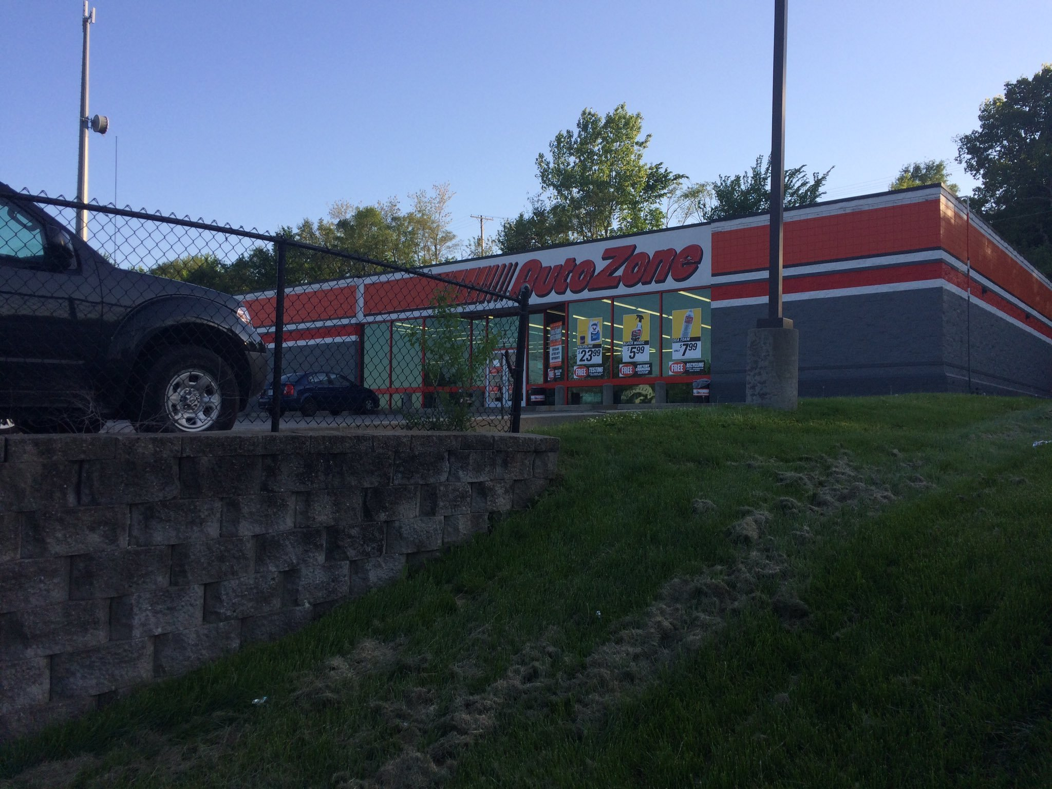 Many Leavenworth residents were shocked by what they found when they searched for an Autozone on Google. (Nathan Vickers/KCTV5)