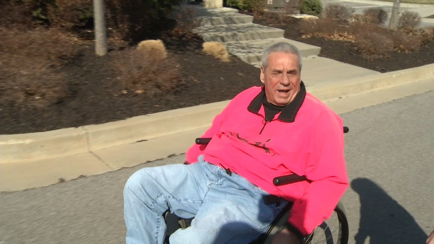 When Robert Wood moved to hisnew apartment, he discovered the mailbox was quite a distance from his apartment. He made requests to the post office in person, in writing and even sent friends and family requesting door delivery. (KCTV5)