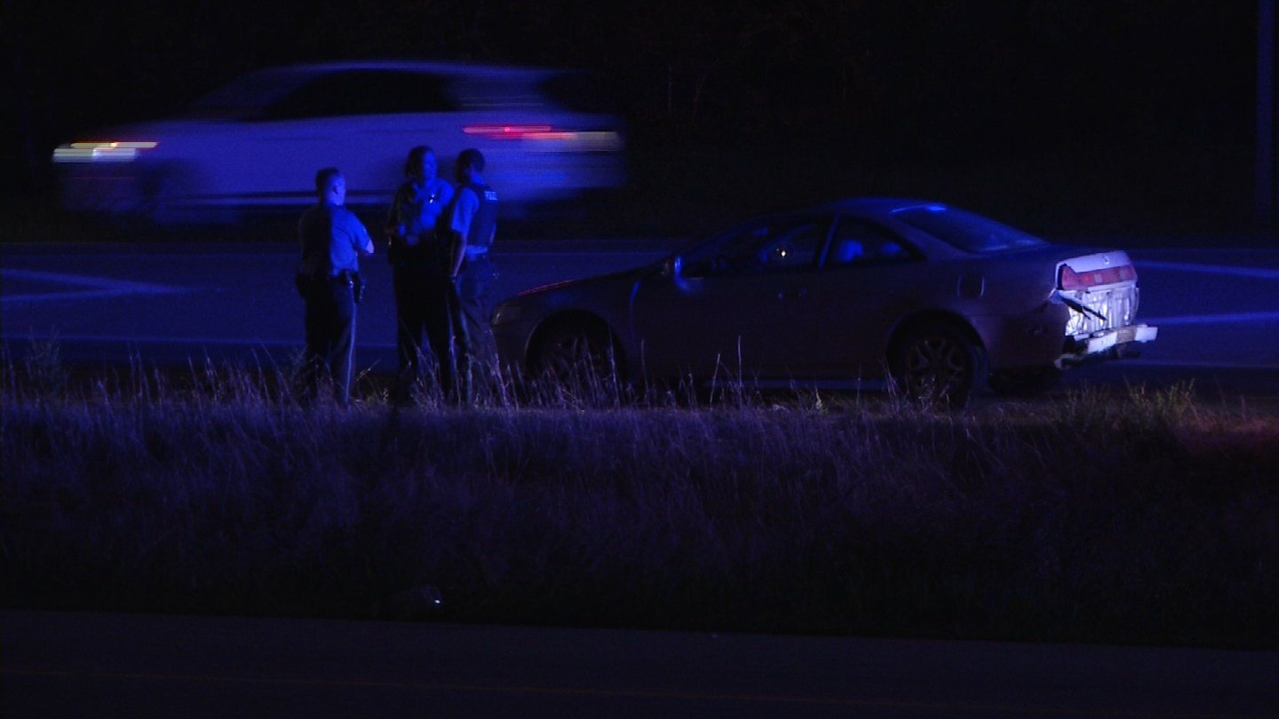 Officers from several zones assisted in the pursuit and apprehended the driver at Interstate 635 and Missouri Highway 5 without incident. (KCTV5)