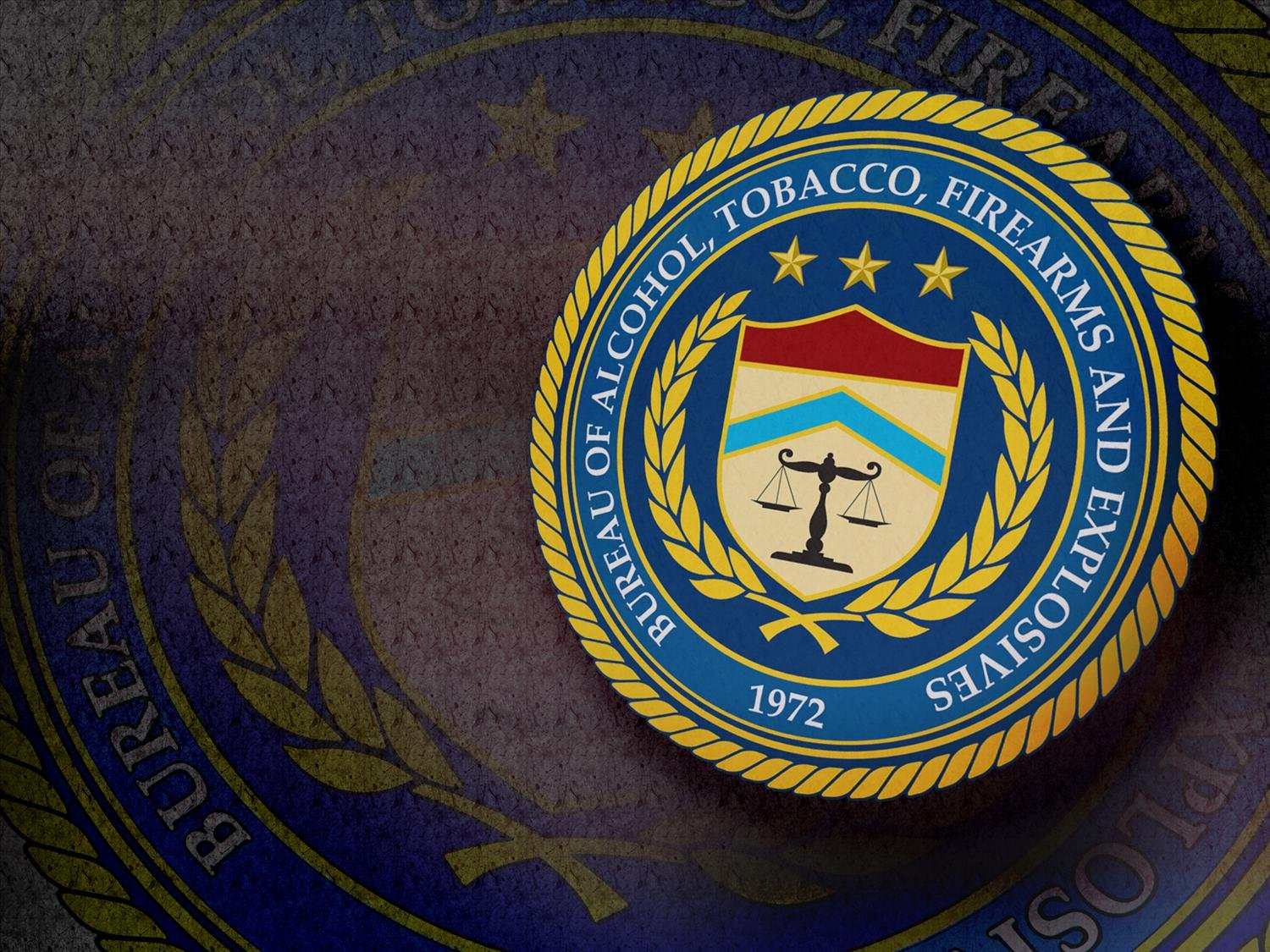 The ATF's seal. (AP)