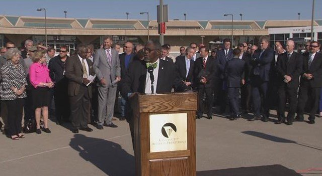 In his announcement, the mayor said the city plans to move forward with a plan laid out by engineering firm Burns & McDonnell. (KCTV5)