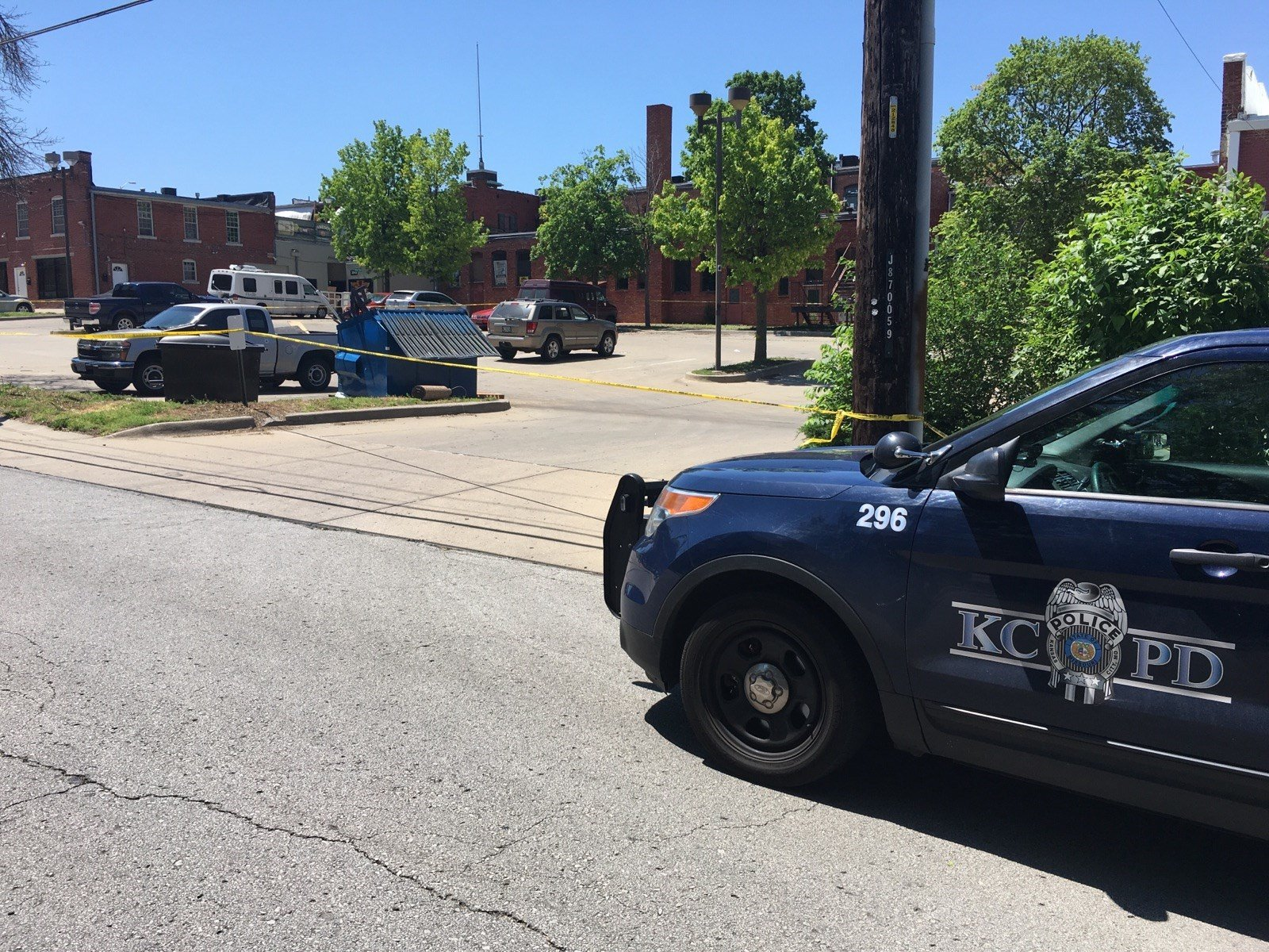 Police say the man was hit by a vehicle while standing in the street. (KCTV5)