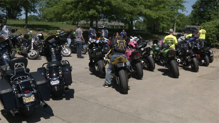 Those at the event worry about the growing number of motorcycle fatalities so far this year. (KCTV)