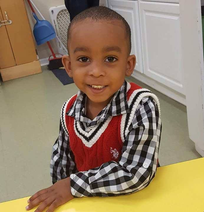 Marcus Haislip, 3, was shot and killed on Friday in a car. Two others were also hurt.(Family)