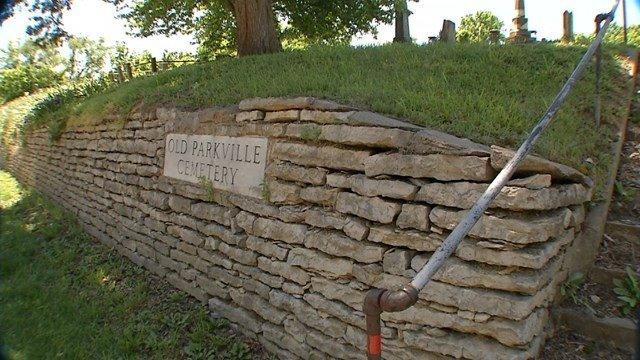 The cemetery has been around for more than 170 years and in that time, the graves have been through a lot. (KCTV5)