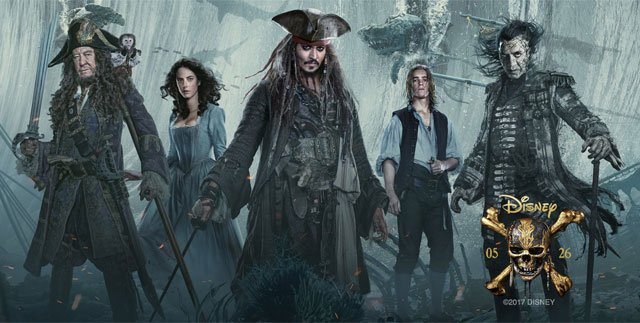 "Johnny Depp returns to the big screen as the iconic, swashbuckling anti-hero Jack Sparrow in the all-new ""Pirates of the Caribbean: Dead Men Tell No Tales.""  (Disney)"
