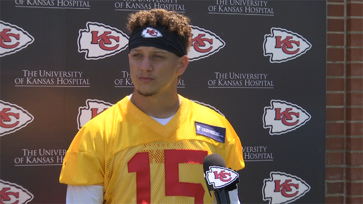 It's time for Patrick Mahomes