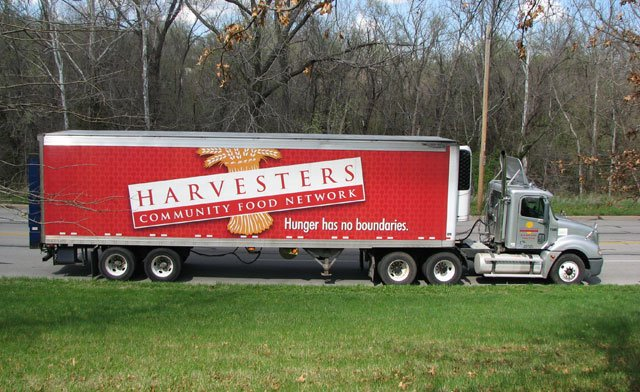 KansasCity raised 100,000 pounds of foodover the weekend during the nation's largest food drive. But, the numbers this year did not stack up to years past. (Harvesters)