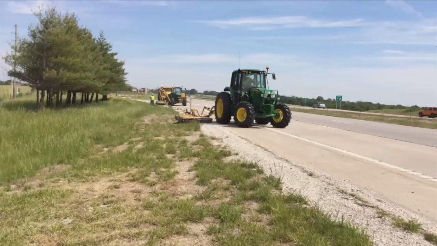 MODOT asks drivers to be alert for the slow-moving trucks and tractors. (KCTV5)