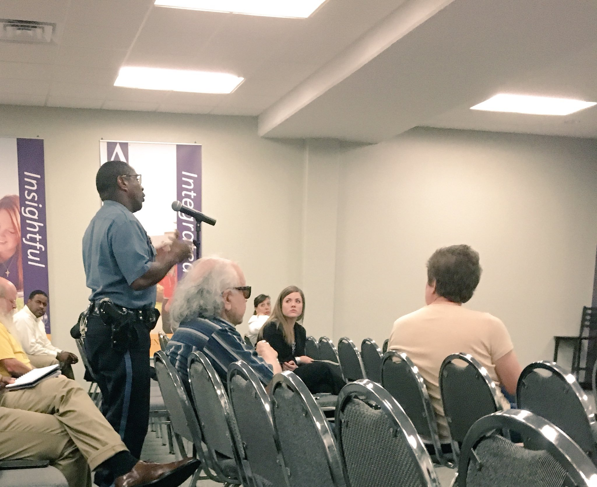 On Monday, the community weighed in on what type of candidate the Board of Police Commissioners should consider. (Rudy Harper/KCTV5)