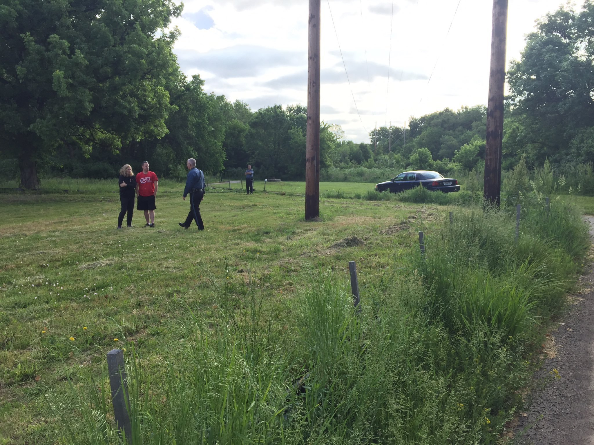 Police say the death of a man found on a walking trail early Thursday morning is a homicide. (KCTV5)