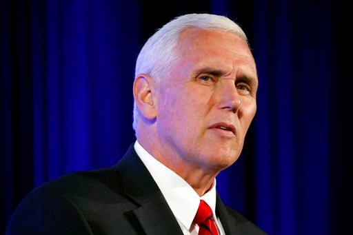 The fundraising event for Yoder will beprivate but Pence'sevent on tax cuts will be open to the public. (AP Photo/Alex Brandon)