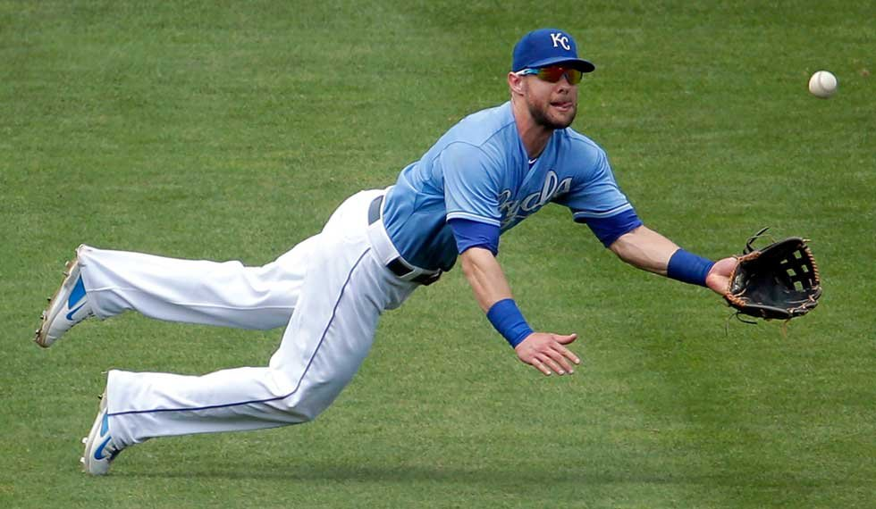 Kansas City Royals outfielder Alex Gordon has been placed on paternity leave and will miss the next three games. (AP File Photo)