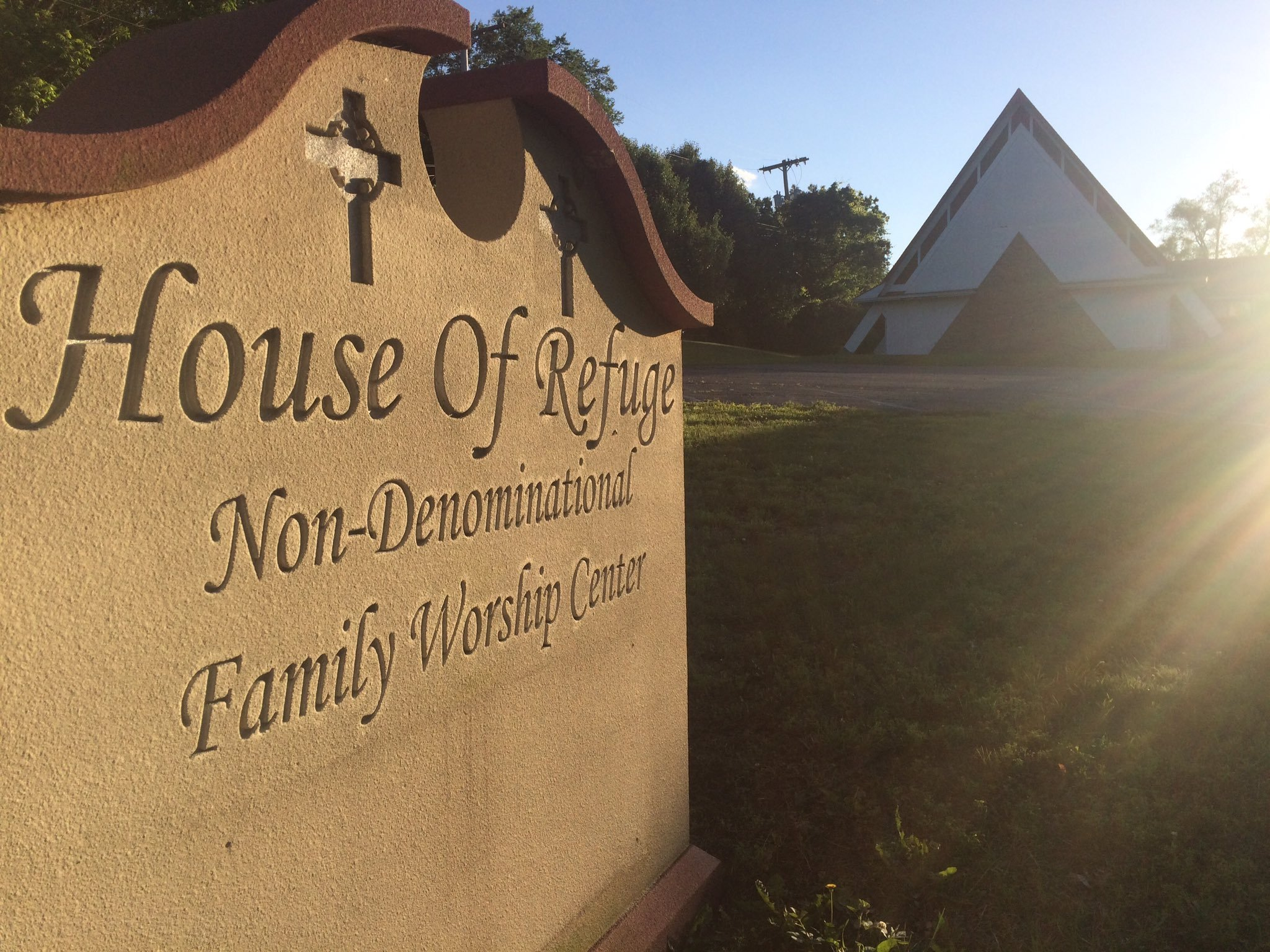 A church greeter at House of Refuge Family Worship was hit by gunfire and had to be hospitalized on Sunday due to a shooting at the church. (KCTV5)