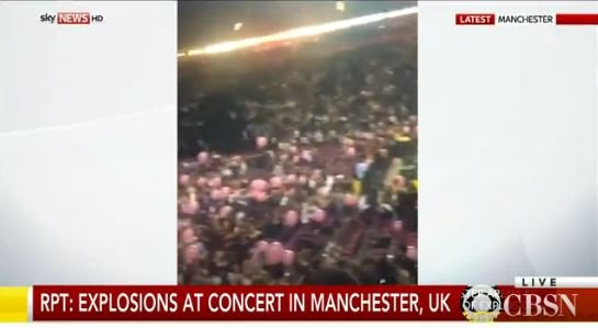 CBS News reports this happened after an Ariana Grande concert.