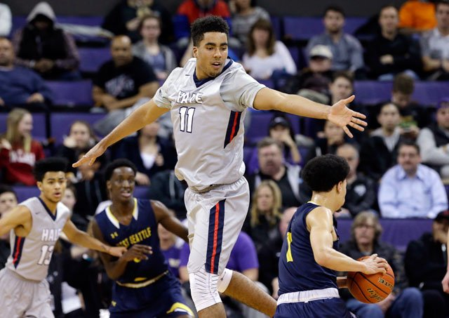 Prep basketball standout Jontay Porter has announced his intention to sign with Missouri, joining his older brother and father. (AP)