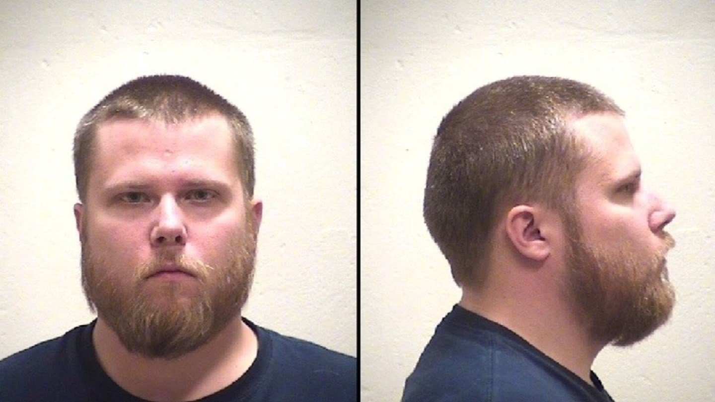 According to court records, Scott Pelc, who was 24 at the time, is accused of bringing a 15-year-old girl to the Claycomo fire station where he worked on US 69 Highway last June.