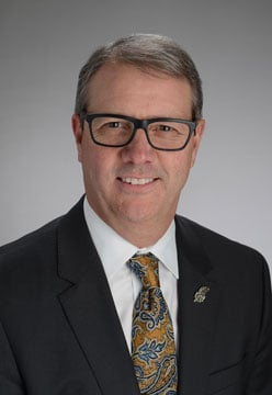 The Kansas Board of Regents on Thursday named Dr. Douglas Girod as the successor to retiring Bernadette Gray-Little. (University of Kansas)
