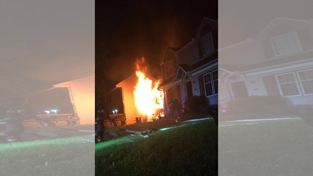 The family says everything in the home is replaceable. They're just glad everyone is safe. (KCTV5)