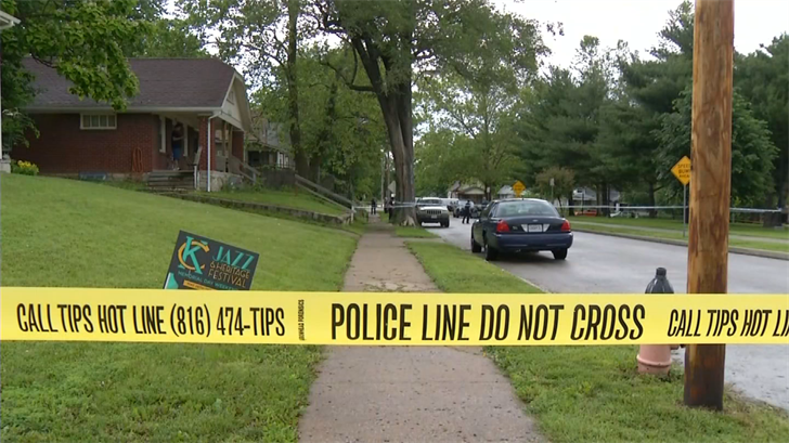 The shooting happened in the area of 21st and Kansas Avenue. (KCTV)