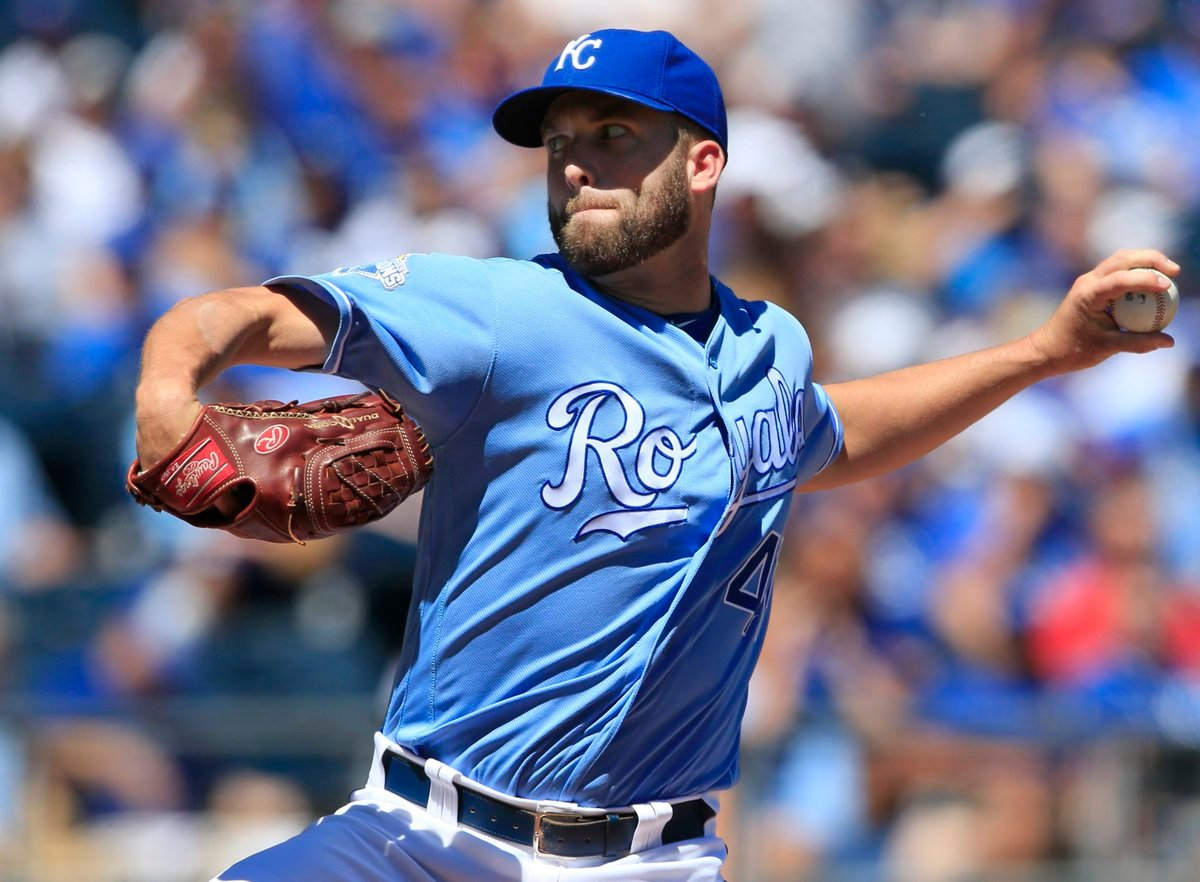 The Kansas City Royals have placed Danny Duffy on the disabled list with an oblique strain and say the left-hander is expected to be out six to eight weeks. (AP File Photo)