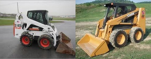 Authorities released images similar to the loaders that were stolen. (Johnson County TRACE)
