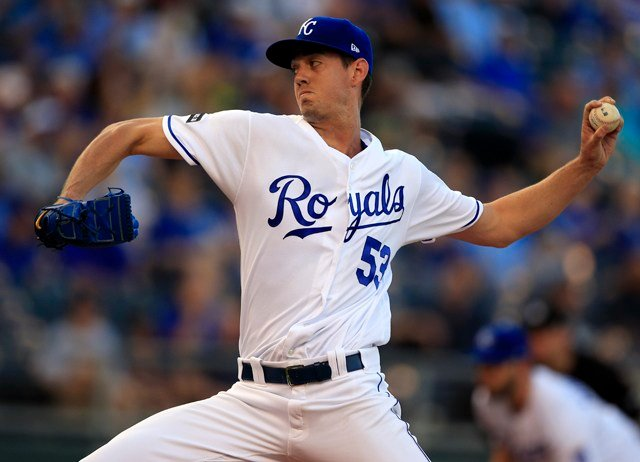 Skoglund, a 2014 third-round draft pick out of Central Florida, struck out five and walked one. (AP)
