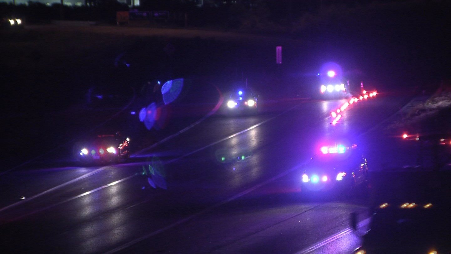 Police are searching for the person responsible for a deadly hit-and-run crash early Wednesday morning. (KCTV5)